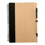 cuaderno ecologico Oficio con lapiz negro