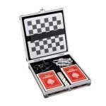 juego ajedrez magnetico y naipes