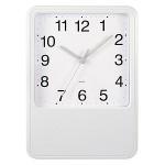 reloj de pared blanco