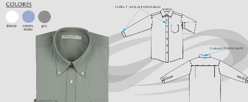 camisa oxford 8020
