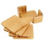 set posavasos bamboo