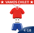 PENDRIVE VAMOS CHILE 4GB
