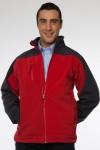 chaqueta bicolor softshell