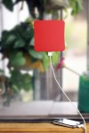 cargador solar pared