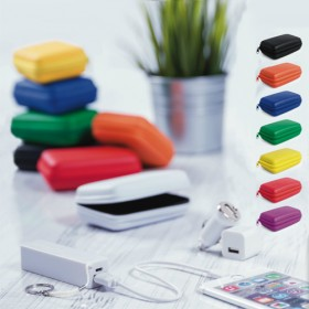 SET POWER BANK COLORES