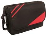 bolso rojo con negro