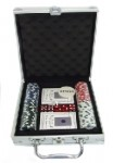 SET MALETA POKER LUX
