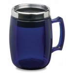 mug termico color azul