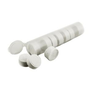 toallas comprimidas tubo