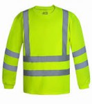 POLERA POLO DRY FIT FLUOR Y REFLECTANTE