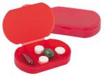 pastillero rojo