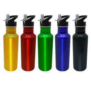 botella metalica con boquilla