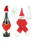 SET NAVIDEÑO BOTELLA 2PZ