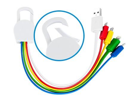 cable multicargador