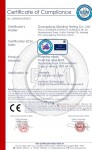 CE certificate for Protective Mask KN95 (1)