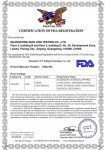 FDA certificate for Protective Mask KN95 (1) (1)