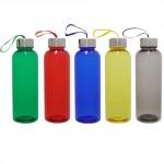 4 Botella plastica con tapa metalica