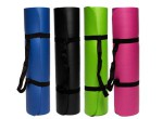 YOGA MAT 8MM COLORES CON CINTAS TRANSPORTE