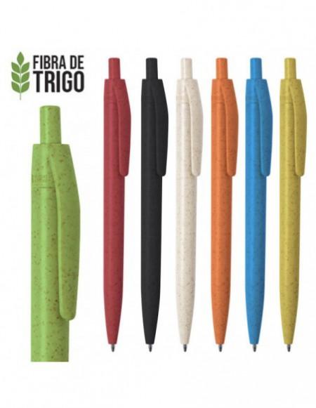BOLIGRAFO ECO FIBRA DE TRIGO ZP01