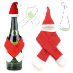 set de botellas navideño