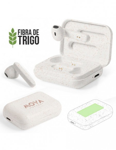 AUDIFONOS BLUETOOTH ECO FIBRA
