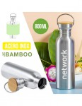 BOTELLA RETRO METAL 800ML