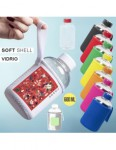 BOTELLA VIDRIO CON FUNDA NEW 600ML