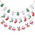 guirnalda de navidad adornos navidad
